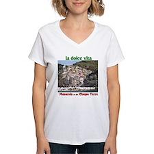 Manarola Ash Grey T-Shirt T-Shirt