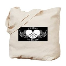 Till death do us part Tote Bag