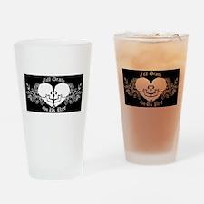 Till death do us part Drinking Glass