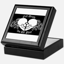 Till death do us part Keepsake Box