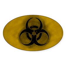 Zombie Biohazard Decal
