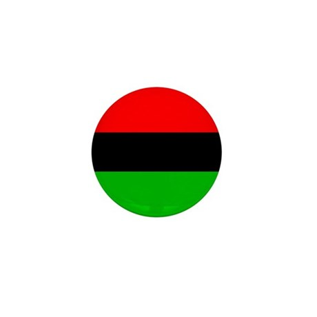 African-American Flag Total Mini Button