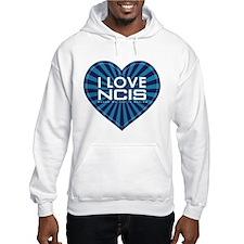 I Love NCIS Hoodie