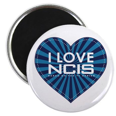 "I Love NCIS 2.25"" Magnet (100 pack)"