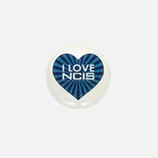 I Love NCIS Mini Button (10 pack)