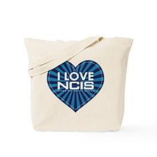 I Love NCIS Tote Bag