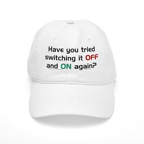 Switch On/Off. Cap