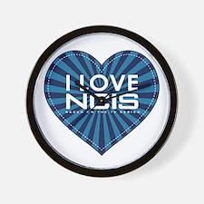 I Love NCIS Wall Clock