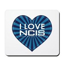 I Love NCIS Mousepad