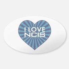 I Love NCIS Sticker (Oval)