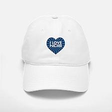 I Love NCIS Baseball Baseball Cap