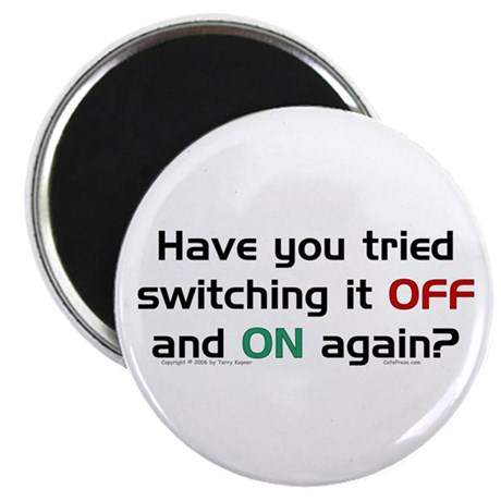 Switch On/Off. Magnet