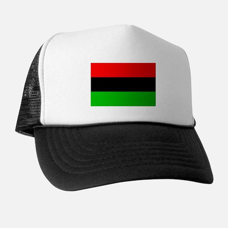 African-American Flag Trucker Hat