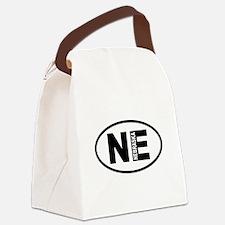 Nebraska Canvas Lunch Bag