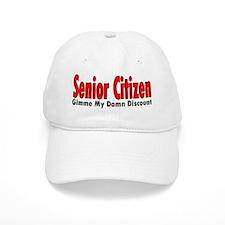 Senior Citizen Discount Hat