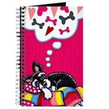 Happy Schnauzer Dreams Journal