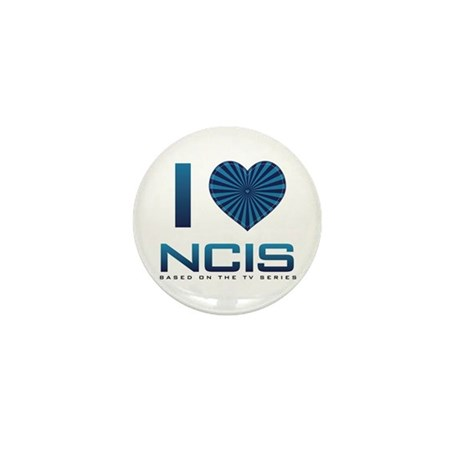 I Heart NCIS Mini Button (10 pack)