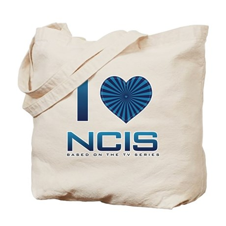 I Heart NCIS Tote Bag