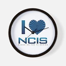 I Heart NCIS Wall Clock