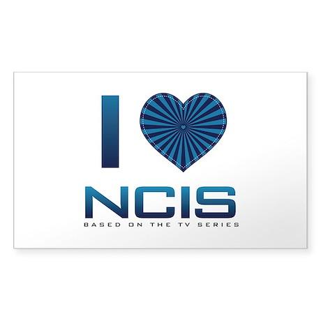 I Heart NCIS Sticker (Rectangle)