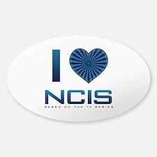 I Heart NCIS Sticker (Oval)