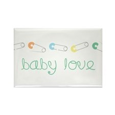 Baby Love Rectangle Magnet