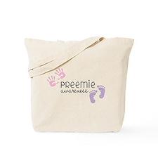 Preemie Awareness Tote Bag