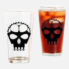 Unique Mountain biking Drinking Glass