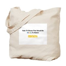 Fake TV Shows Series: CHiCKENs Tote Bag