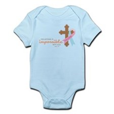 Nothing Is Impossible Infant Bodysuit