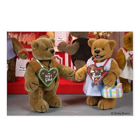 Dinky Bears Postcards (Package of 8)