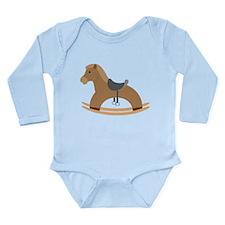 Rocking Horse Long Sleeve Infant Bodysuit
