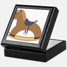 Rocking Horse Keepsake Box