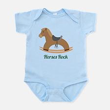 Horses Rock Infant Bodysuit