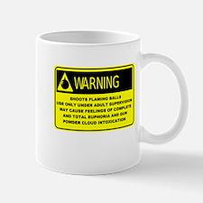 Warning! Shoots Flaming Balls Mug