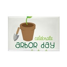 Arbor Day Rectangle Magnet