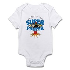 SUPER ATOMIC POOPER URL Infant Bodysuit