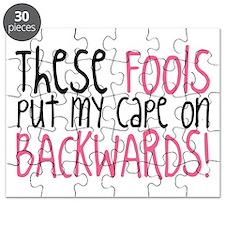 Cape On Backwards Puzzle