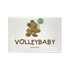 Volleybaby Rectangle Magnet
