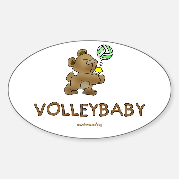 Volleybaby Oval Decal