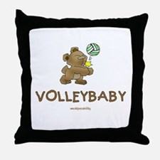 Volleybaby Throw Pillow