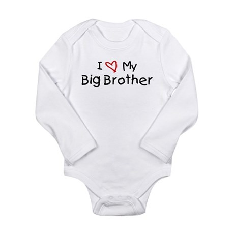 I Love My Big Brother Body Suit