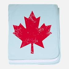 Industrial Maple baby blanket
