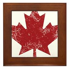 Industrial Maple Framed Tile