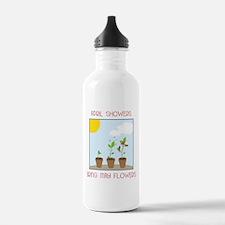 May Flowers Water Bottle