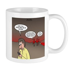 Hell Cell Reception Mug