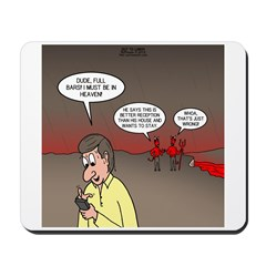 Hell Cell Reception Mousepad