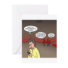 Hell Cell Reception Greeting Cards (Pk of 20)