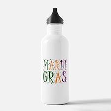 MARDI GRAS Water Bottle