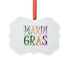 MARDI GRAS Ornament